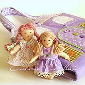 Куклы и игрушки ручной работы. Ярмарка Мастеров - ручная работа Сумочка домик  для куклы. Handmade.