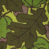 """Для дома и интерьера ручной работы. Ярмарка Мастеров - ручная работа Коврик для пола """"Зеленые листья"""". Handmade."""