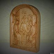 """Иконы ручной работы. Ярмарка Мастеров - ручная работа Икона """"Троица"""". Handmade."""