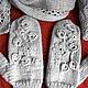 """Комплекты аксессуаров ручной работы. Ярмарка Мастеров - ручная работа. Купить Комплект """"Зимний сад"""" / Авт. раб.. Handmade."""