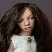Куклы и игрушки ручной работы. Ярмарка Мастеров - ручная работа Изабэль, шарнирная фарфоровая кукла. Handmade.