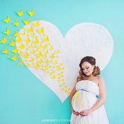 Декорации для фотосессии беременных 83