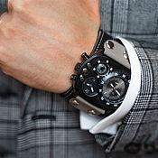 Украшения handmade. Livemaster - original item watches: Brutal Grey. Handmade.