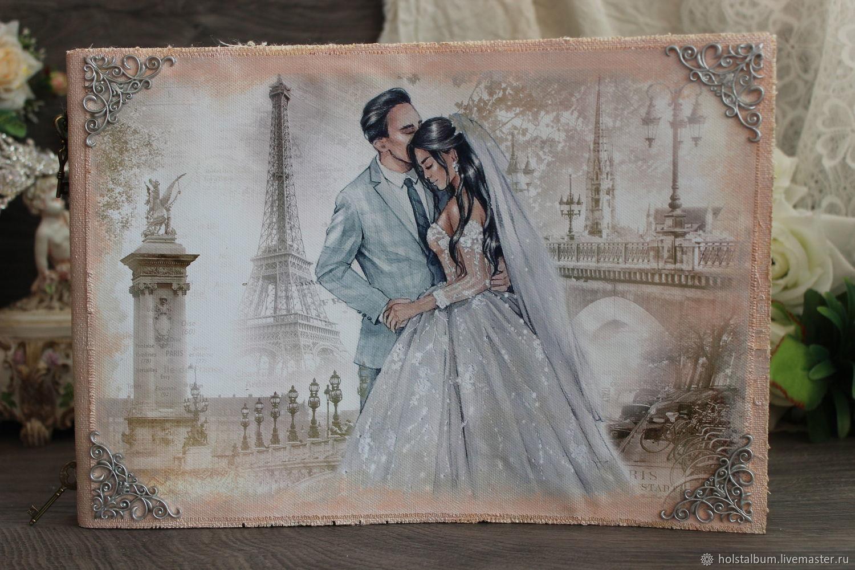 Photo album wedding: Lovers in Paris, Wedding photo album, St. Petersburg,  Фото №1