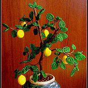 Цветы и флористика ручной работы. Ярмарка Мастеров - ручная работа Лимонное дерево. Handmade.