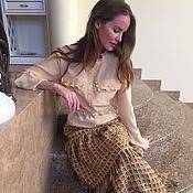 Одежда ручной работы. Ярмарка Мастеров - ручная работа Юбка и блузка. Handmade.