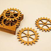 Для дома и интерьера handmade. Livemaster - original item A set of fires Gear. Handmade.
