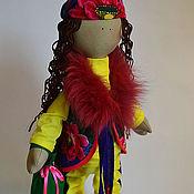 Куклы и игрушки ручной работы. Ярмарка Мастеров - ручная работа Модница Зарина от Лурдес (продана). Handmade.