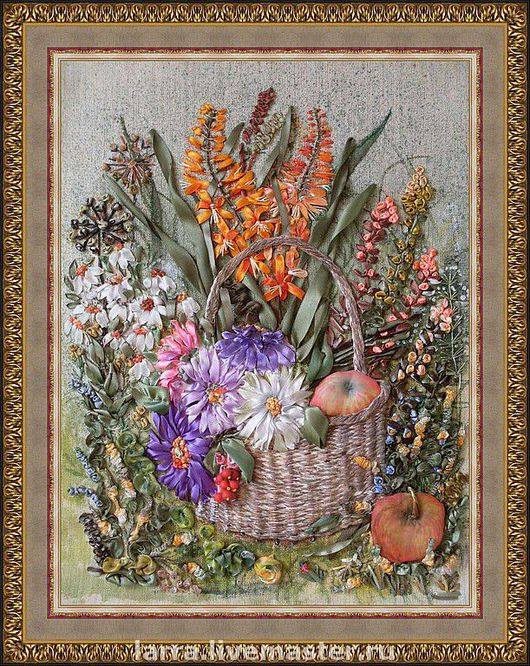 """Картина """"Осенняя щедрость"""", это уголок осеннего сада. Осень -пора подведения итогов. Природа щедра на  в эту пору яркими красками и дарами Земли. Пусть всегда в Вашем доме будет достаток и б"""