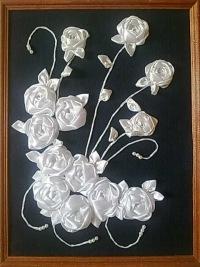 Картины с розами своими руками фото