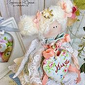 Тильда Зверята ручной работы. Ярмарка Мастеров - ручная работа Интерьерная кукла Принцесса на горошине. Handmade.