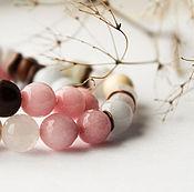 Украшения ручной работы. Ярмарка Мастеров - ручная работа Нежные бутоны - комплект браслетов. Handmade.