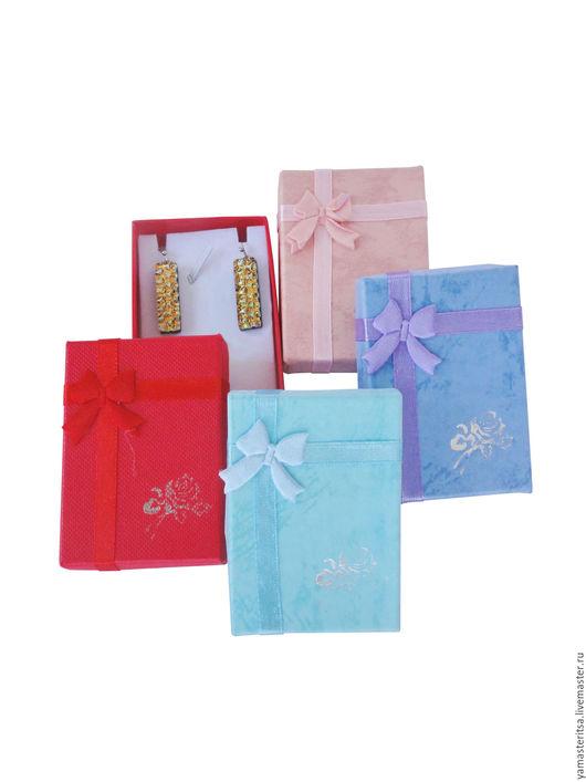 Упаковка ручной работы. Ярмарка Мастеров - ручная работа. Купить Подарочная коробочка 5х7х2 картон для украшений маленькая. Handmade. Коробочка