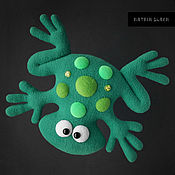 Игрушка-подушка Лягушка