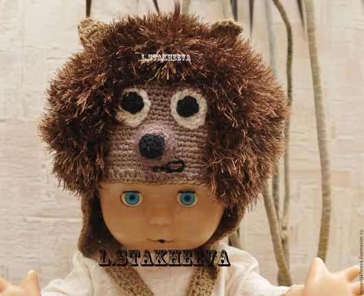 Шапки и шарфы ручной работы. Ярмарка Мастеров - ручная работа. Купить шапка Ежик. Handmade. Комбинированный, шапка вязаная ежик
