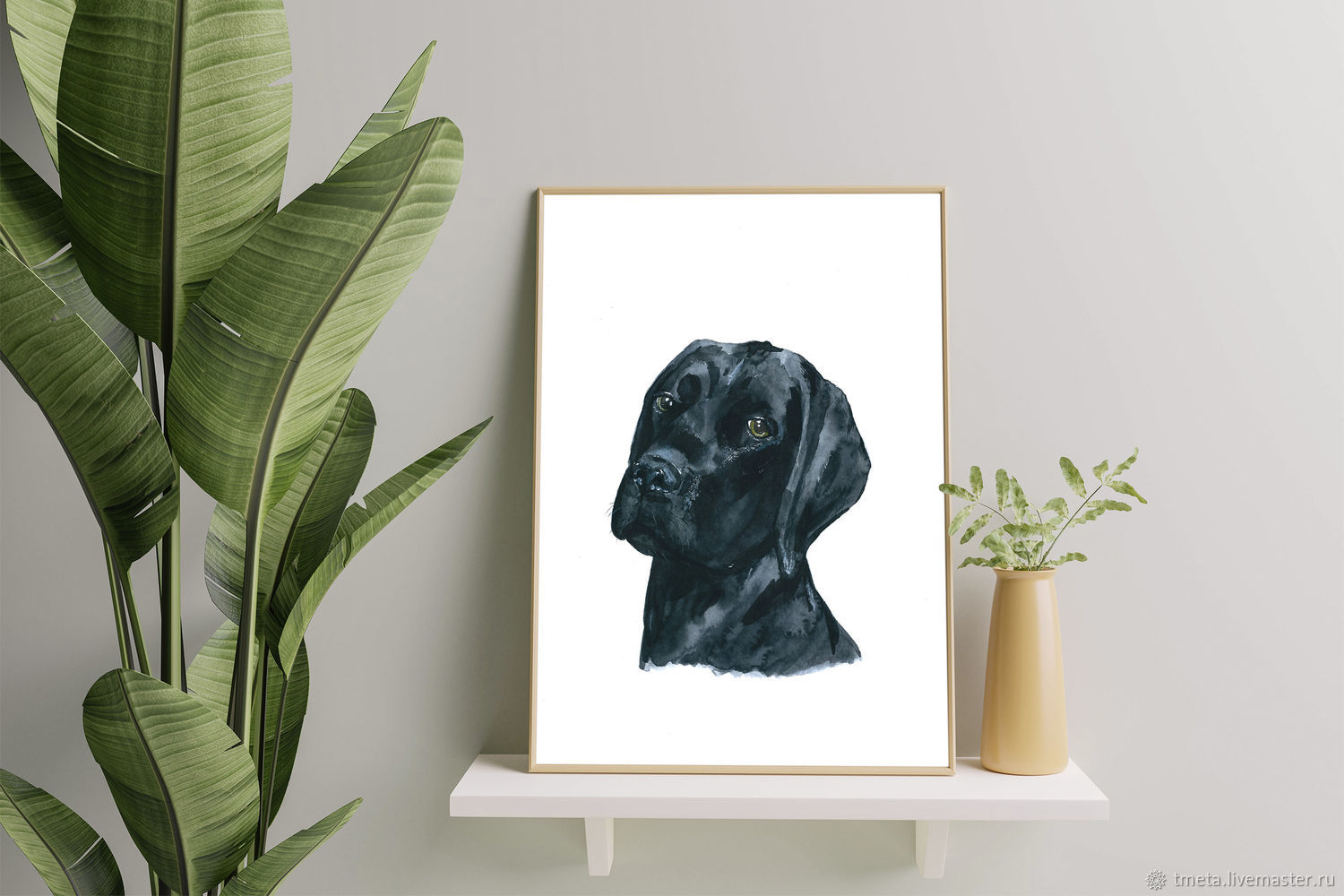 Custom pet or animal portrait from photo, Pictures, Moscow,  Фото №1