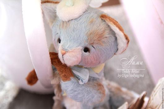 Мишки Тедди ручной работы. Ярмарка Мастеров - ручная работа. Купить лисёнок Аими. Handmade. Лис, авторская игрушка, опилки