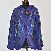 Одежда ручной работы. Ярмарка Мастеров - ручная работа Цельноваляный пиджак- жакет. Handmade.