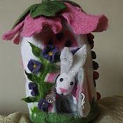 """Куклы и игрушки ручной работы. Ярмарка Мастеров - ручная работа Игрушка """"Зайкин дом"""". Handmade."""