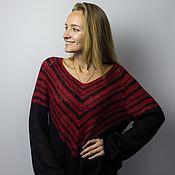 Одежда handmade. Livemaster - original item Knitted sweater of kid mohair. Handmade.