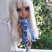 Куклы и игрушки ручной работы. Ярмарка Мастеров - ручная работа Летний кардиган для куколки Блайз. Handmade.