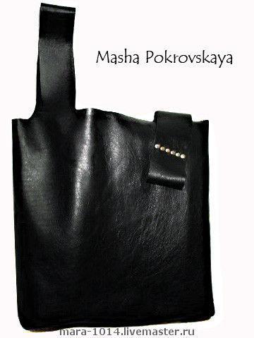 Женские сумки ручной работы. Ярмарка Мастеров - ручная работа. Купить Сумка-майка Вечная. Handmade. Натуральная кожа