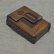 Сумки и аксессуары handmade. Livemaster - original item Cigarette case. sigaretta. LD.  Branded. Personalized gift. Handmade.