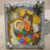 Для дома и интерьера ручной работы. Ярмарка Мастеров - ручная работа Сказы кота Тихона. Handmade.