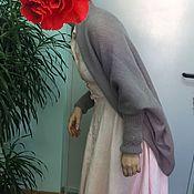 """Одежда ручной работы. Ярмарка Мастеров - ручная работа Кардиган кокон """"осенняя роза"""". Handmade."""