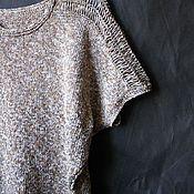 Одежда handmade. Livemaster - original item Top jumper knitted womens R. .44-46 Loft. Handmade.
