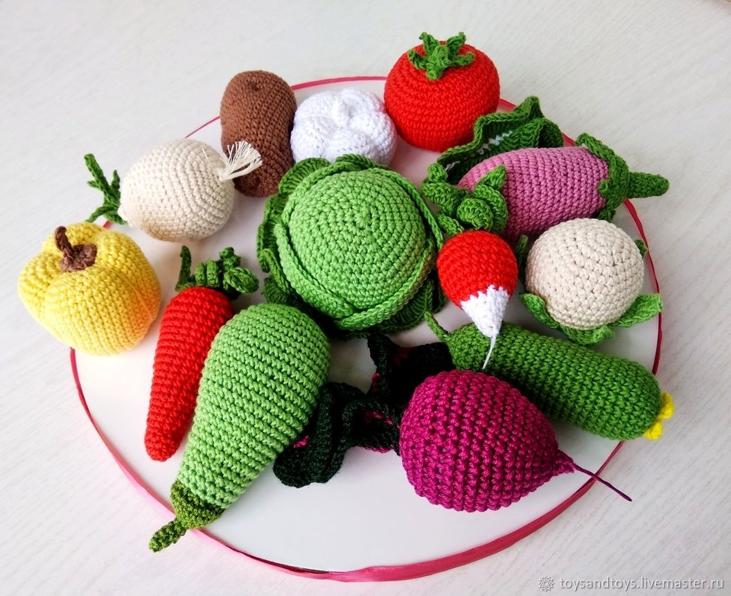 Vegetable. Educational games. String bag as a gift!, Doll food, Gukovo,  Фото №1