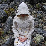 """Одежда ручной работы. Ярмарка Мастеров - ручная работа Войлочное пальто """"В лапах белой ночи.."""". Handmade."""