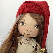 Куклы и игрушки ручной работы. Ярмарка Мастеров - ручная работа Гномочка с подарками. Handmade.