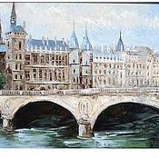 Картины и панно handmade. Livemaster - original item The Bridge Of Napoleon. Handmade.