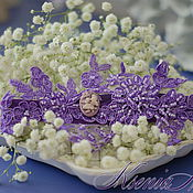 Свадебный салон handmade. Livemaster - original item Garter Lace. Handmade.