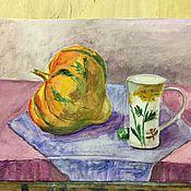 Картины и панно ручной работы. Ярмарка Мастеров - ручная работа Солнечная тыква. Handmade.