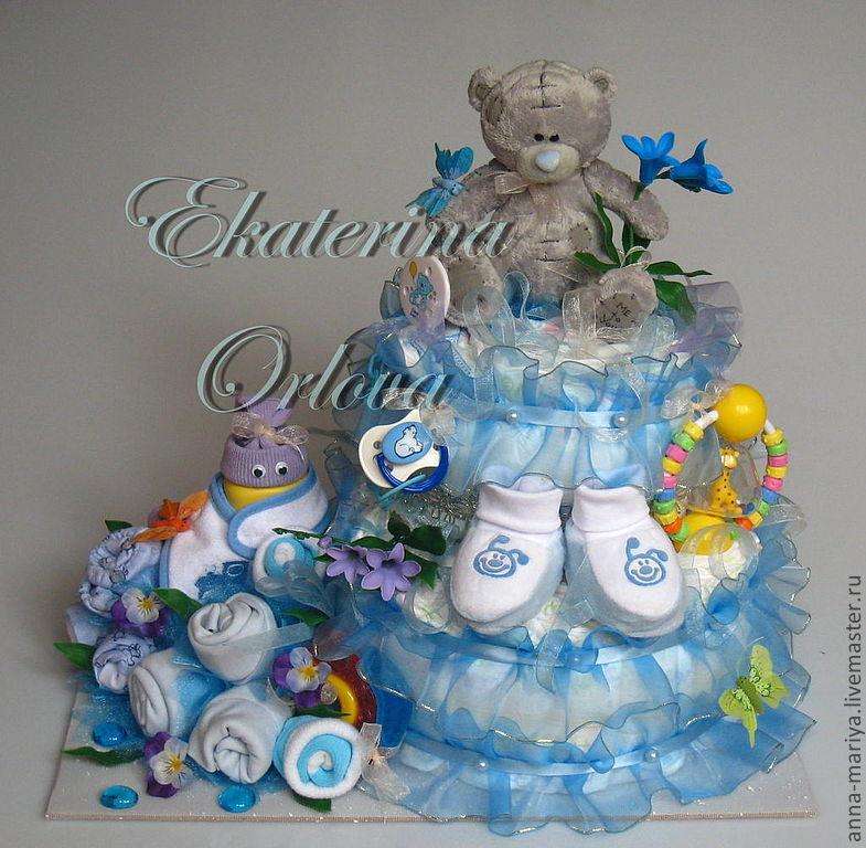 Подарок новорожденному мальчику своими руками мастер класс