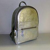 Сумки и аксессуары handmade. Livemaster - original item Backpack leather city. Handmade.