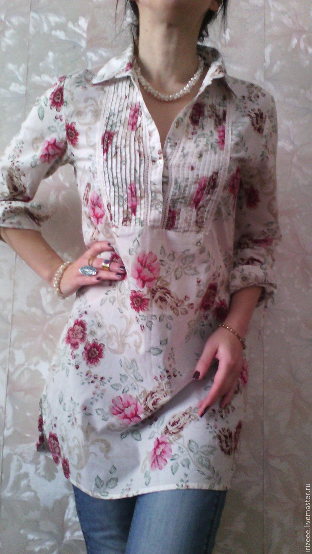 Батистовая блузка доставка