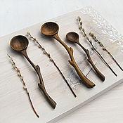 Посуда ручной работы. Ярмарка Мастеров - ручная работа Ложки салатные. Handmade.