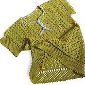 Одежда handmade. Livemaster - original item Blouse crochet Casual. Handmade.