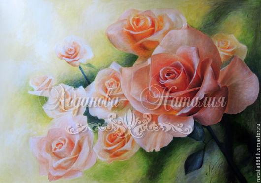 """Животные ручной работы. Ярмарка Мастеров - ручная работа. Купить Розы """"Запах мечты!"""". Handmade. Подарок, подарок на любой случай"""
