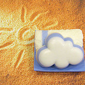Косметика ручной работы handmade. Livemaster - original item Set soap a Towel and a cloud. Handmade.