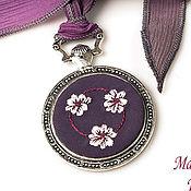 handmade. Livemaster - original item Embroidered pendant Lady Nimueh. Handmade.