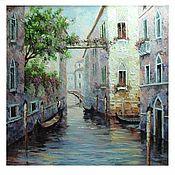 Картины и панно handmade. Livemaster - original item purple Venice. Handmade.