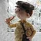 Коллекционные куклы ручной работы. Колбаска.... Наталья Савинова куклы из шерсти. Ярмарка Мастеров. Авторская ручная работа, ретро стиль