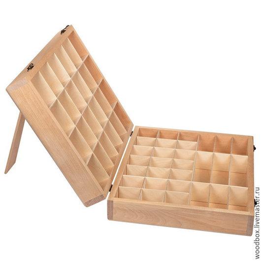 Шкатулки ручной работы. Ярмарка Мастеров - ручная работа. Купить В433311 Планшет для украшений ящик для бижутерии для драгоценностей. Handmade. Планшет