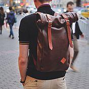 Сумки и аксессуары ручной работы. Ярмарка Мастеров - ручная работа Rolltop из натуральной кожи (рюкзак роллтоп). Handmade.
