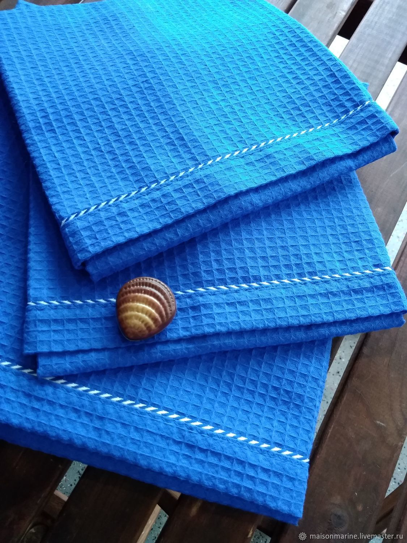Beach towel Royal blue, Towels, Moscow,  Фото №1
