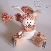 """Куклы и игрушки ручной работы. Ярмарка Мастеров - ручная работа Зайка """"Веселый бумс"""". Handmade."""